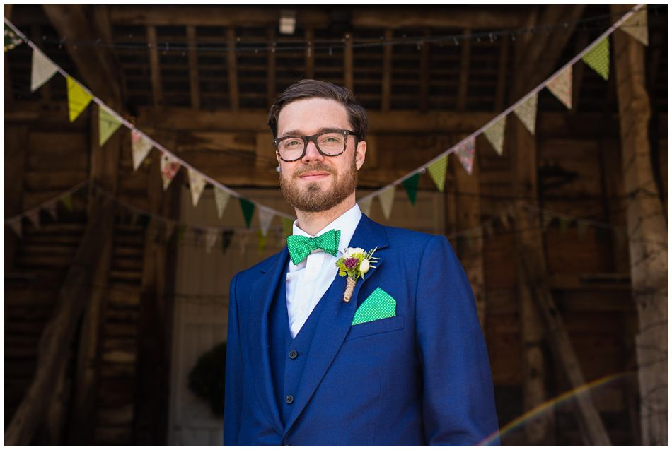 Groom in Cad & The Dandy Suit