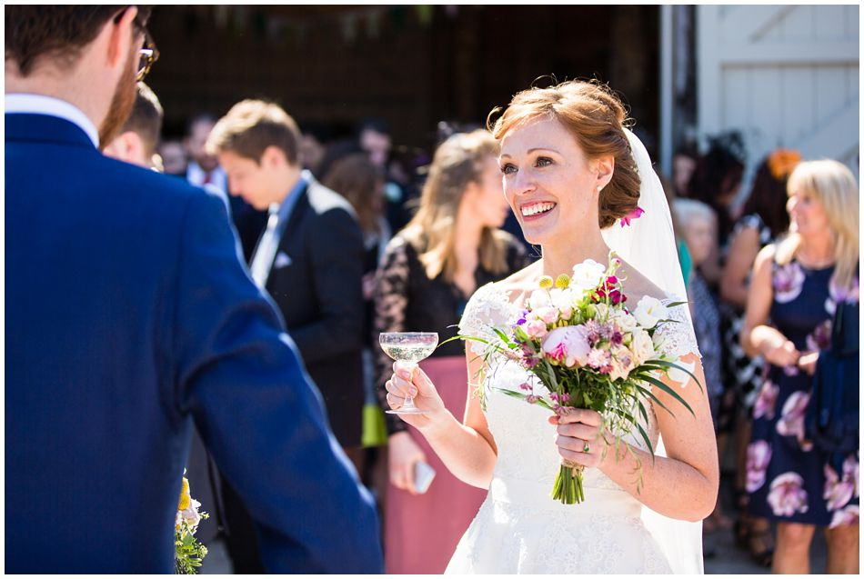 relaxed wedding photography at Pimhill Barn