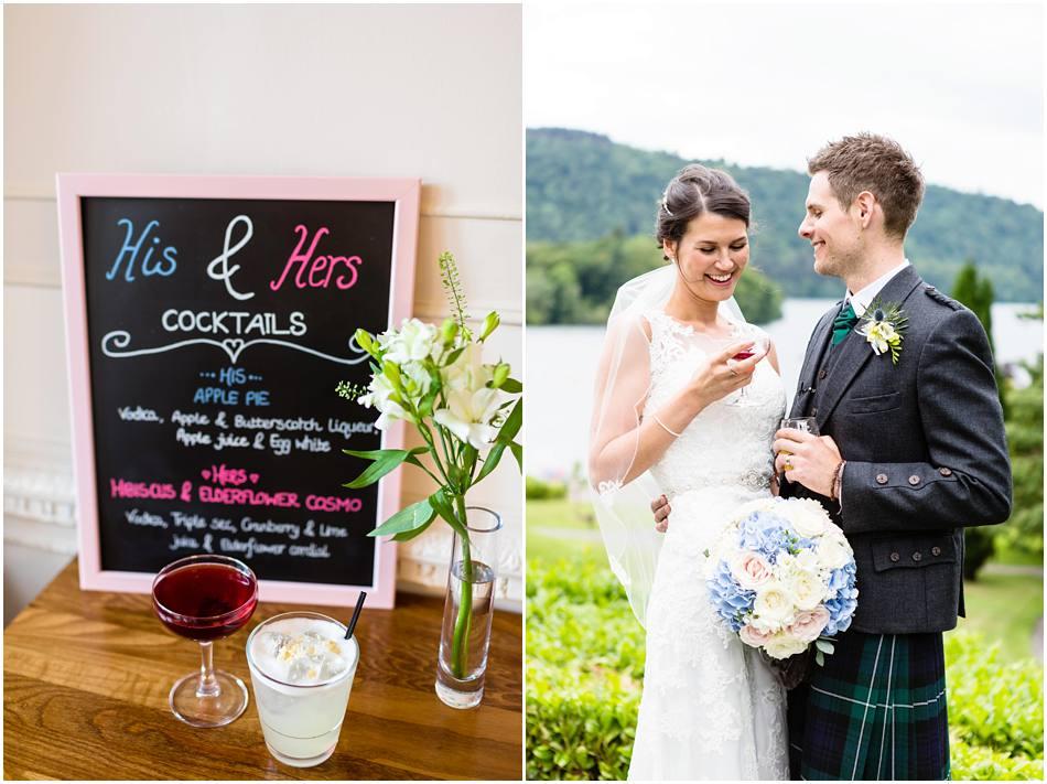 wedding photography Lake Windermere