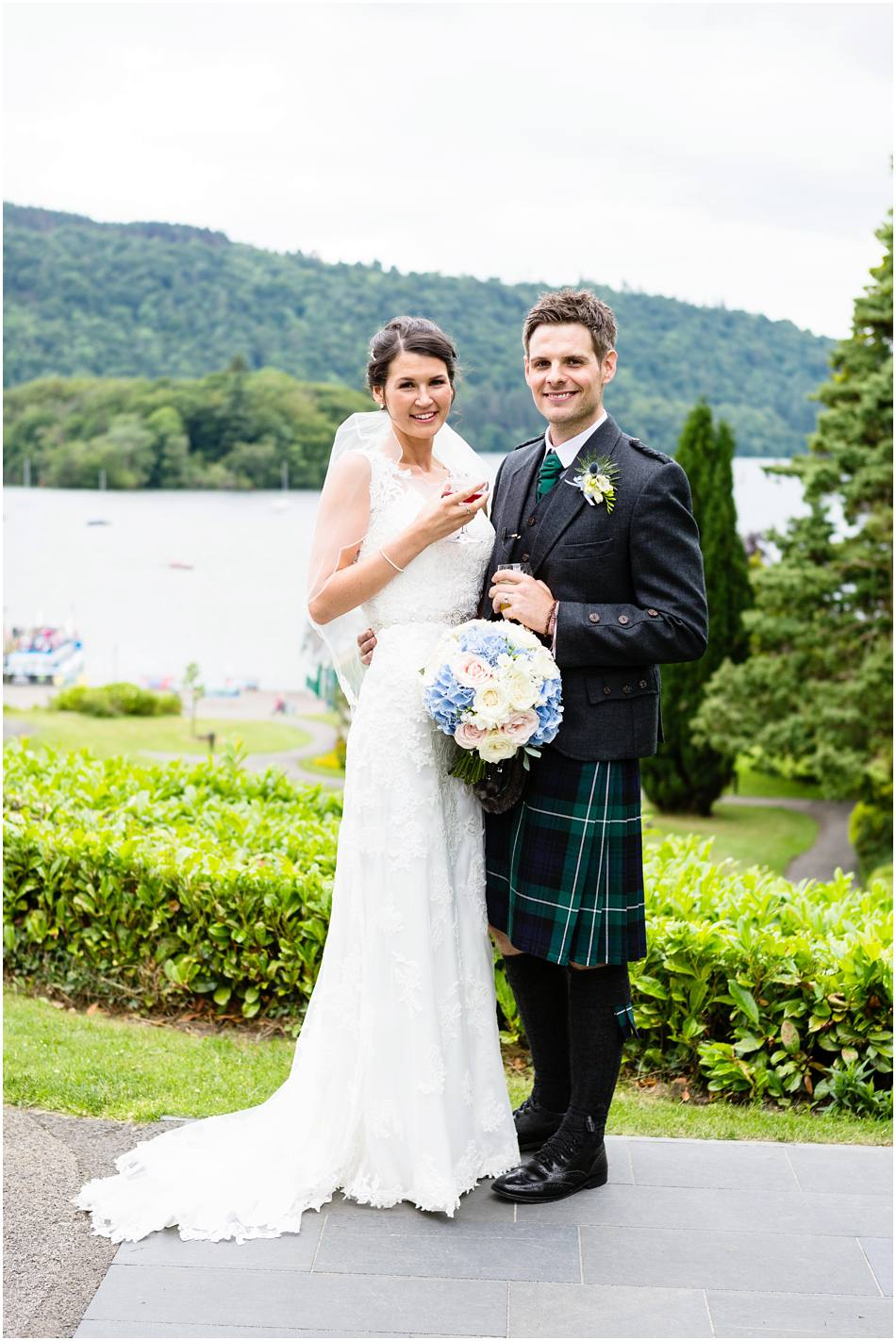 wedding photography The Belsfield Hotel, Bowness on Windermere