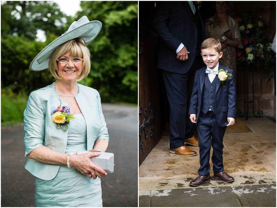 wedding photography at St Peters Church, Little Aston
