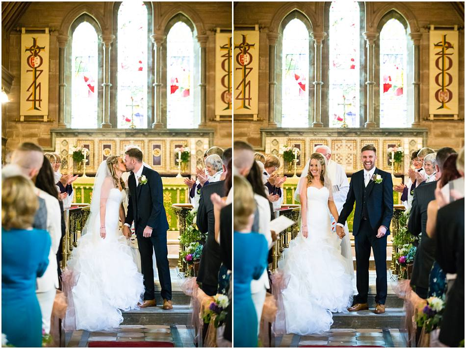wedding at St Peter's, Little Aston, Sutton Coldfield