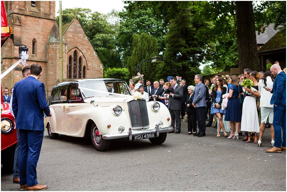 St Peter's Church, Little Aston, Wedding