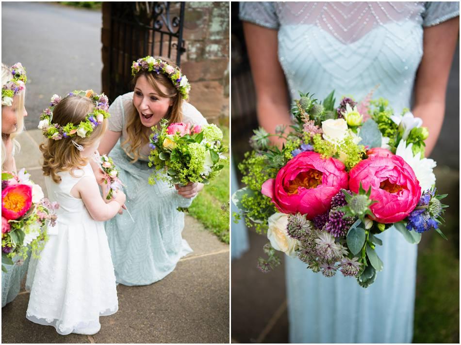 wedding photography at Shustoke Farm Barns Warwickshire