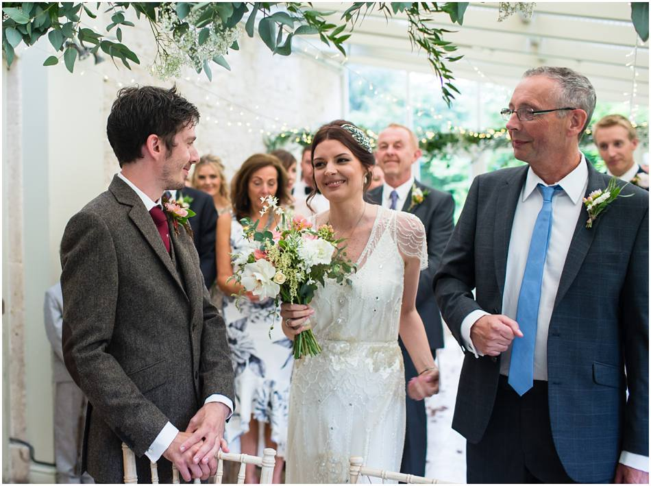 Wedding at The Rectory Hotel, Crudwell