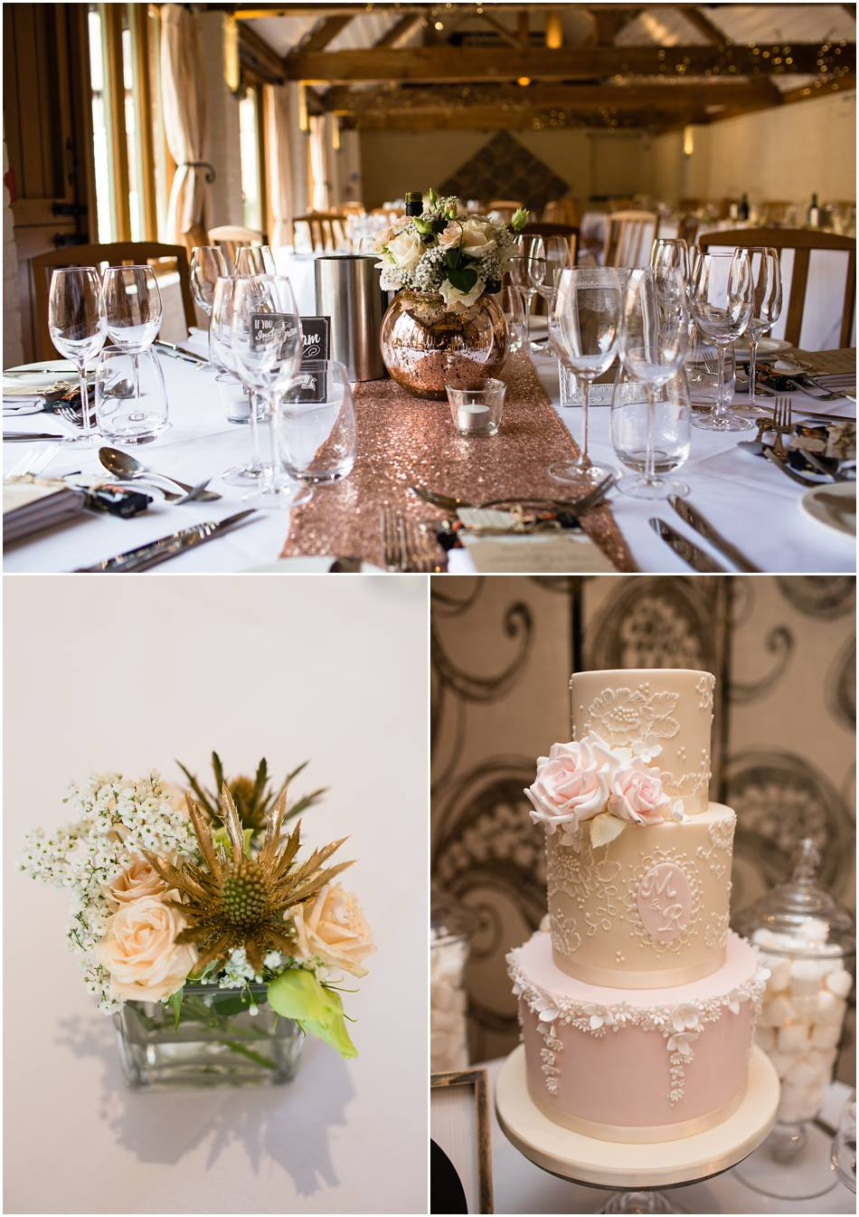 Copper Blush Autumn Curradine Barns Wedding