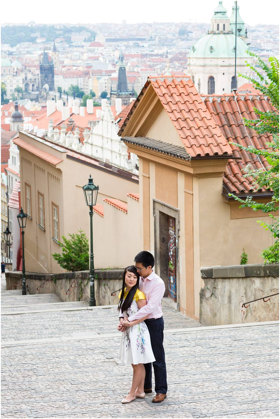 pre wedding shoot in Prague
