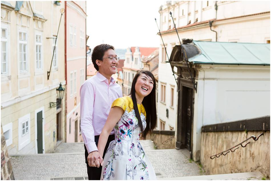 Prague Pre Wedding Shoot