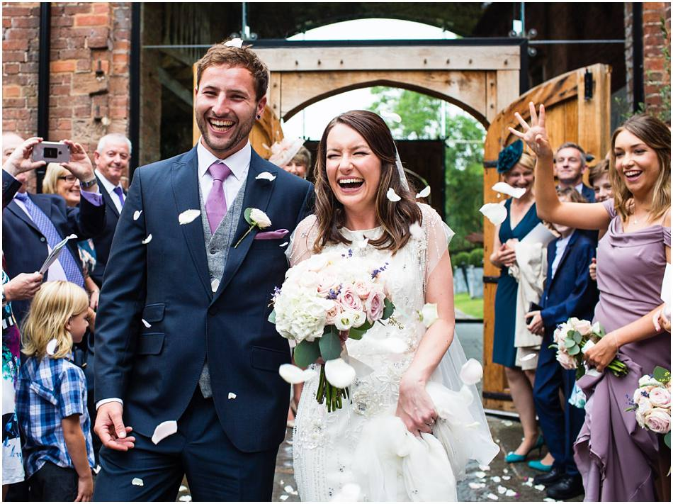 Shustoke Farm Barns Wedding