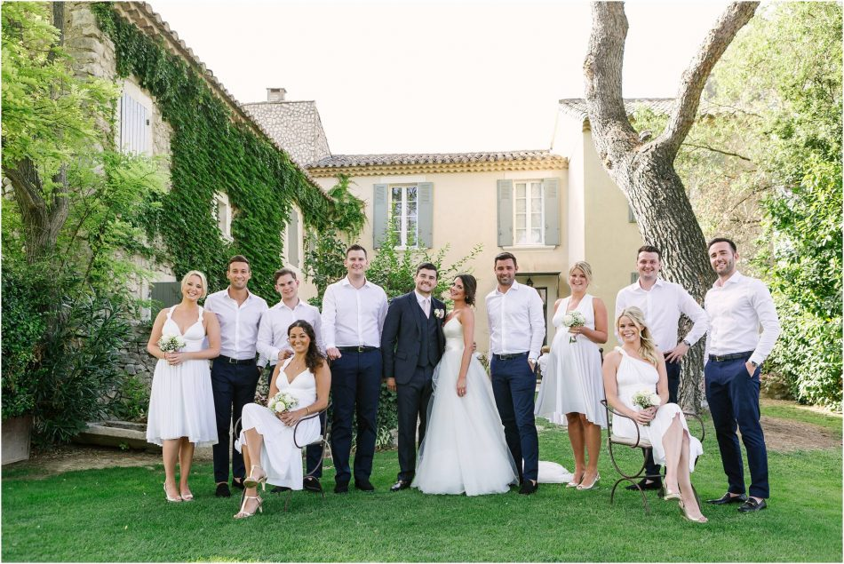 wedding photography at Mas de la Rose, Provence