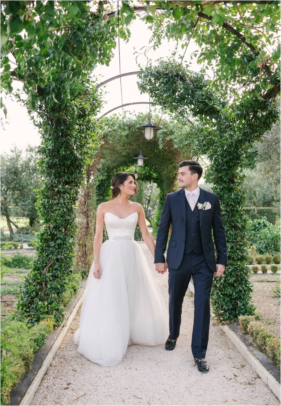 Provence wedding at Mas de la Rose