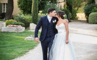 Relaxed Mas de la Rose Wedding, Provence