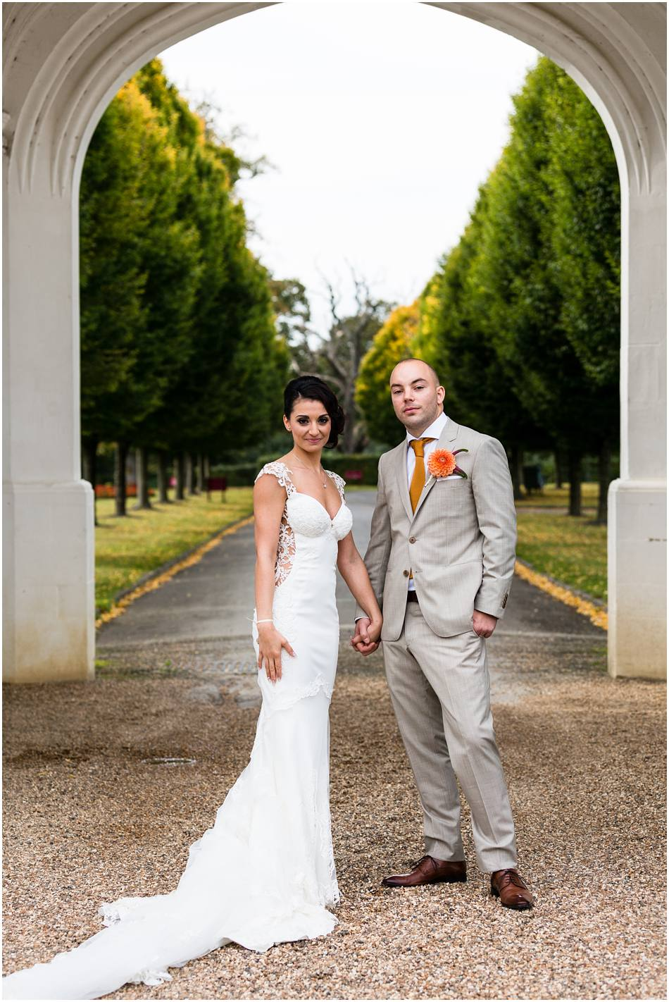 wedding photos at Danesfield House