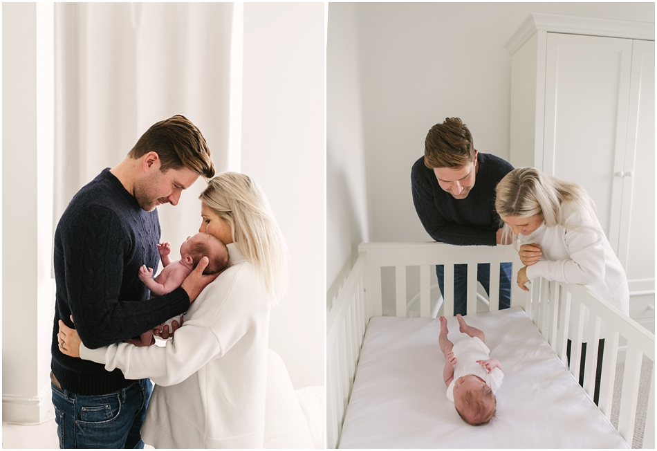 natural baby photography at home in Sutton Coldfield