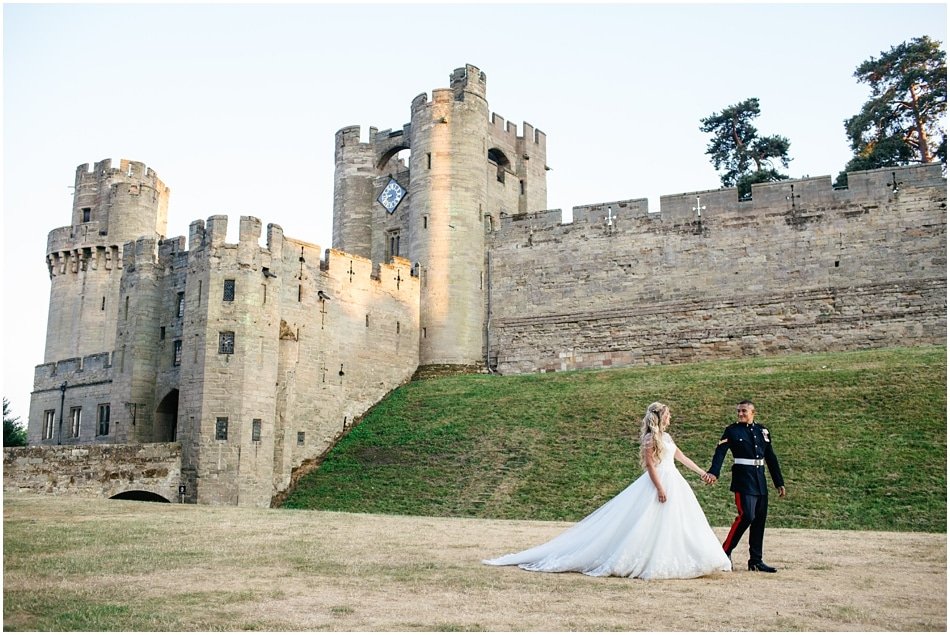Warwick Castle Wedding for a Military Groom