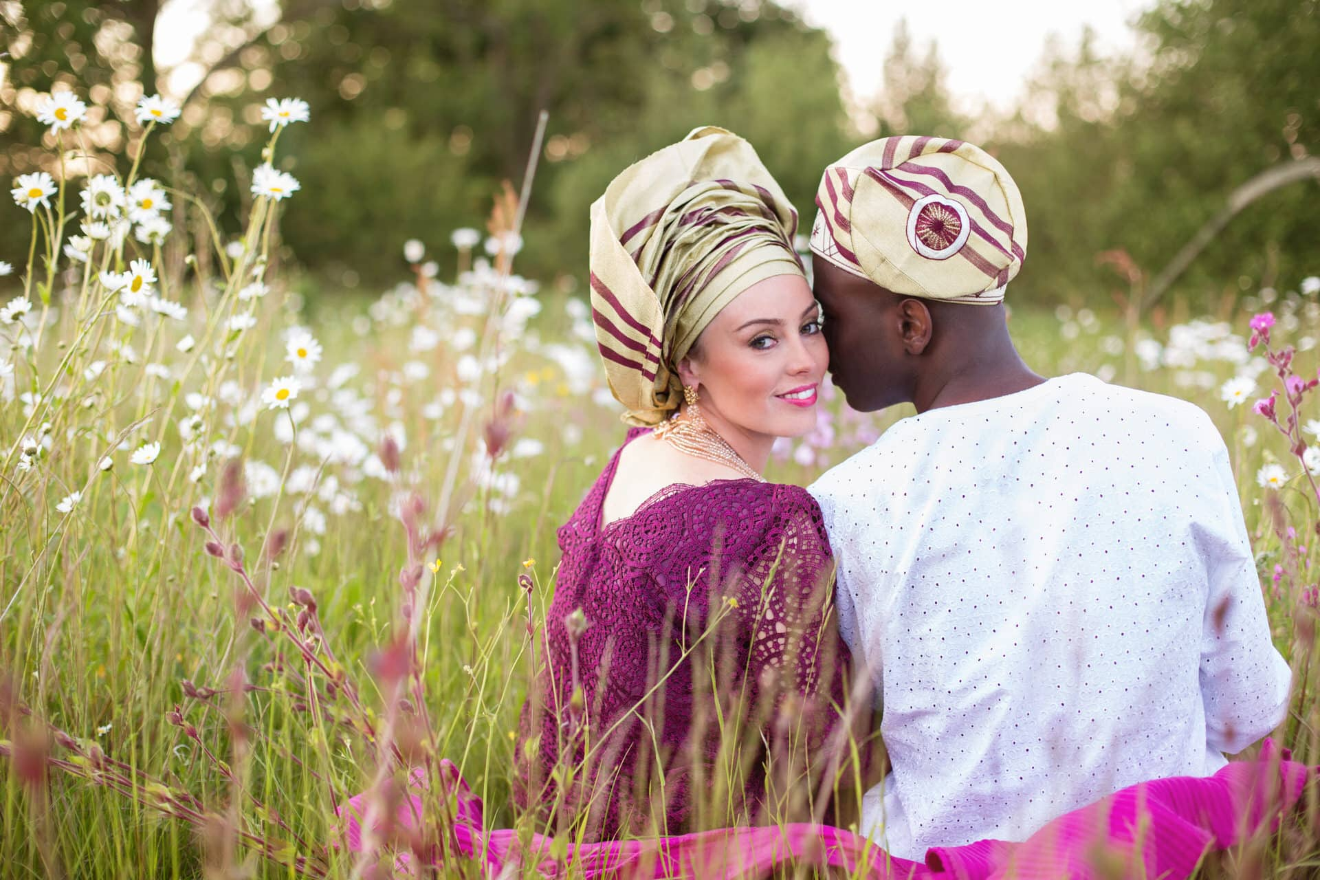 Nigerian fusion wedding at Wethele Manor