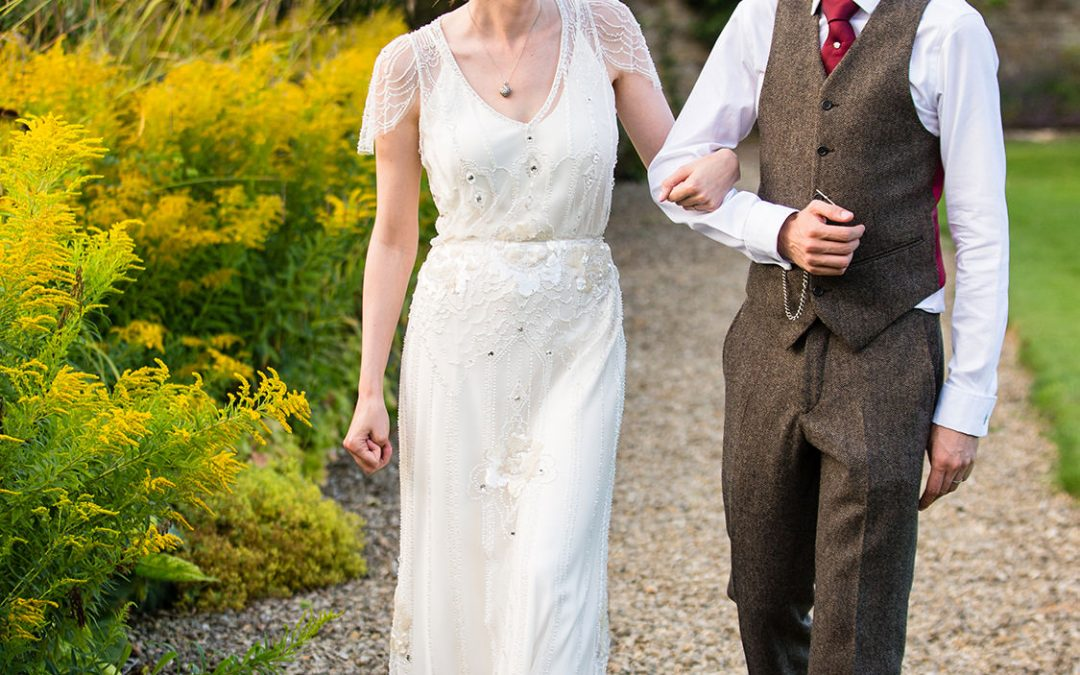 Rectory Hotel Wedding Jenny Packham Bride