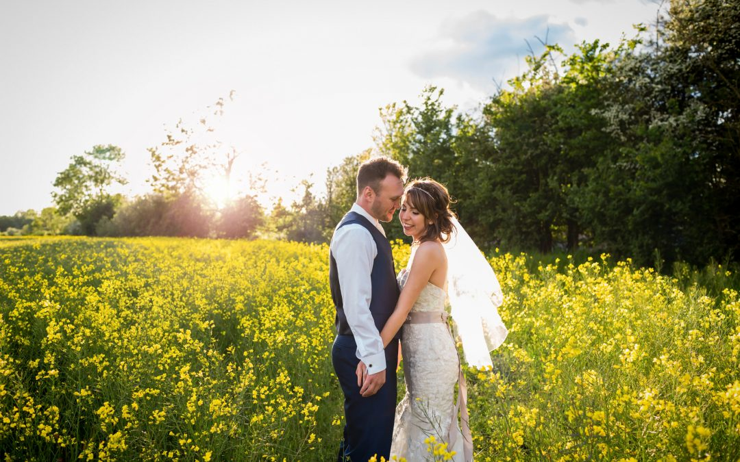 Rustic Spring Shustoke Farm Wedding