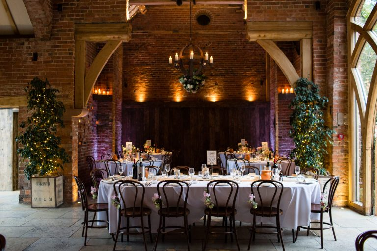 Shustoke Barn wedding photography; candlelight package
