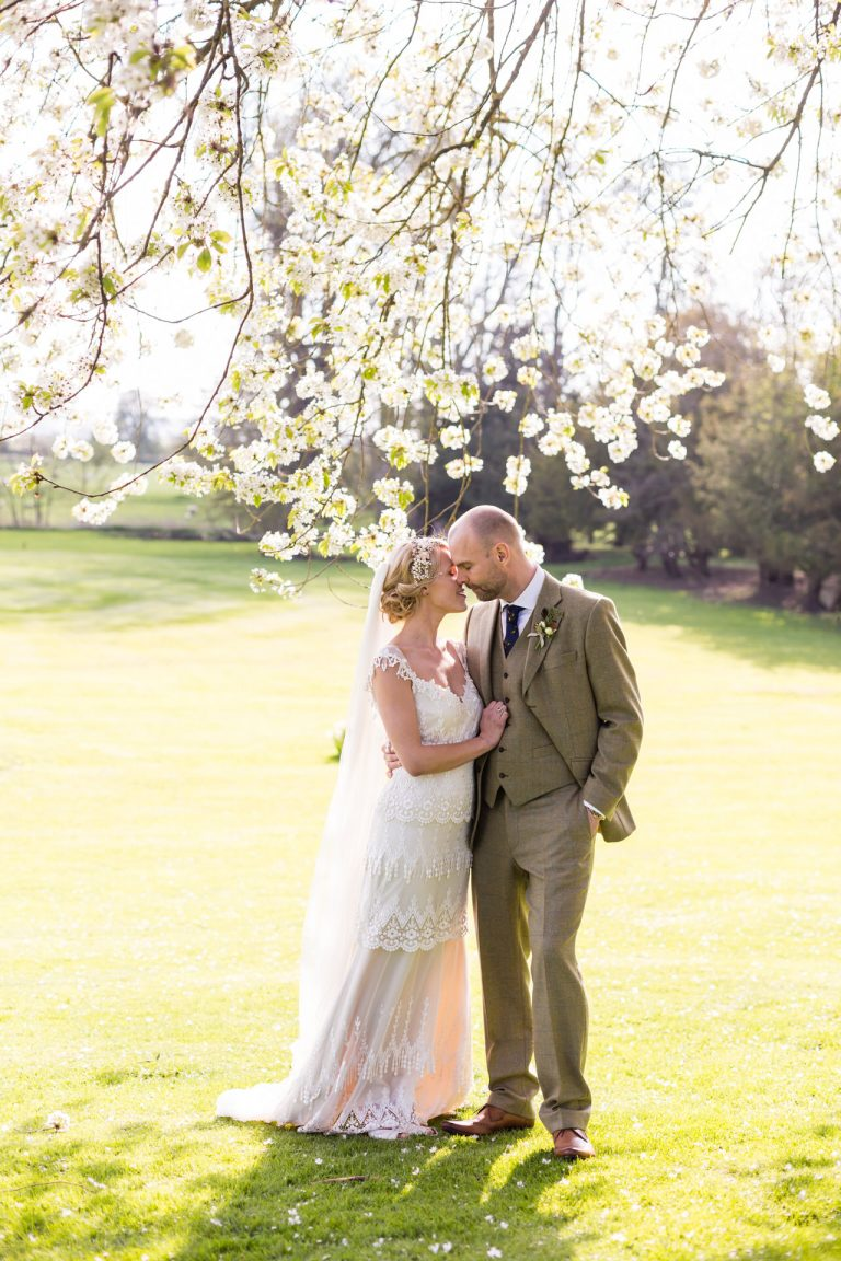 Spring wedding photography at Ettington Park Hotel