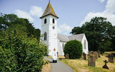 Classic Church Ceremony Iscoyd Park Wedding Reception