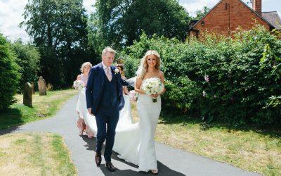 Iscoyd Park Wedding with Church Ceremony