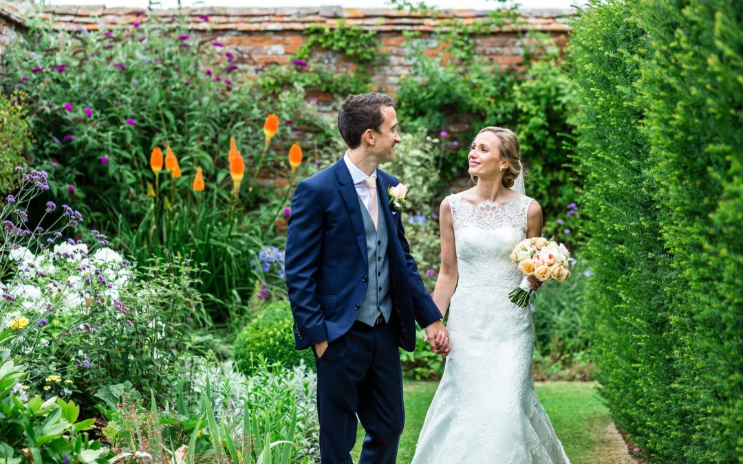 Elegant Blush Peach Birtsmorton Court Wedding