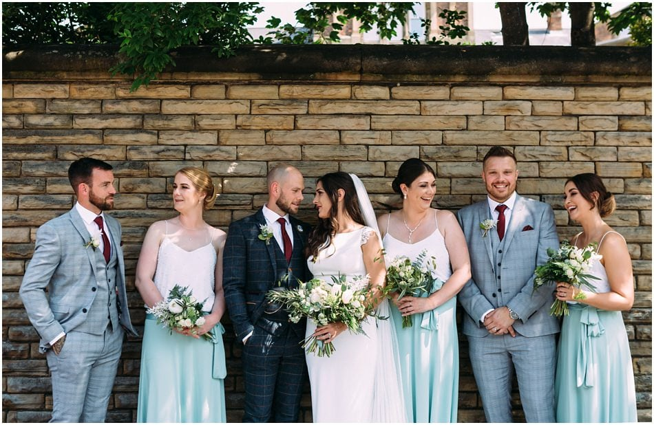 wedding photography at Hope Street Hotel, Liverpool