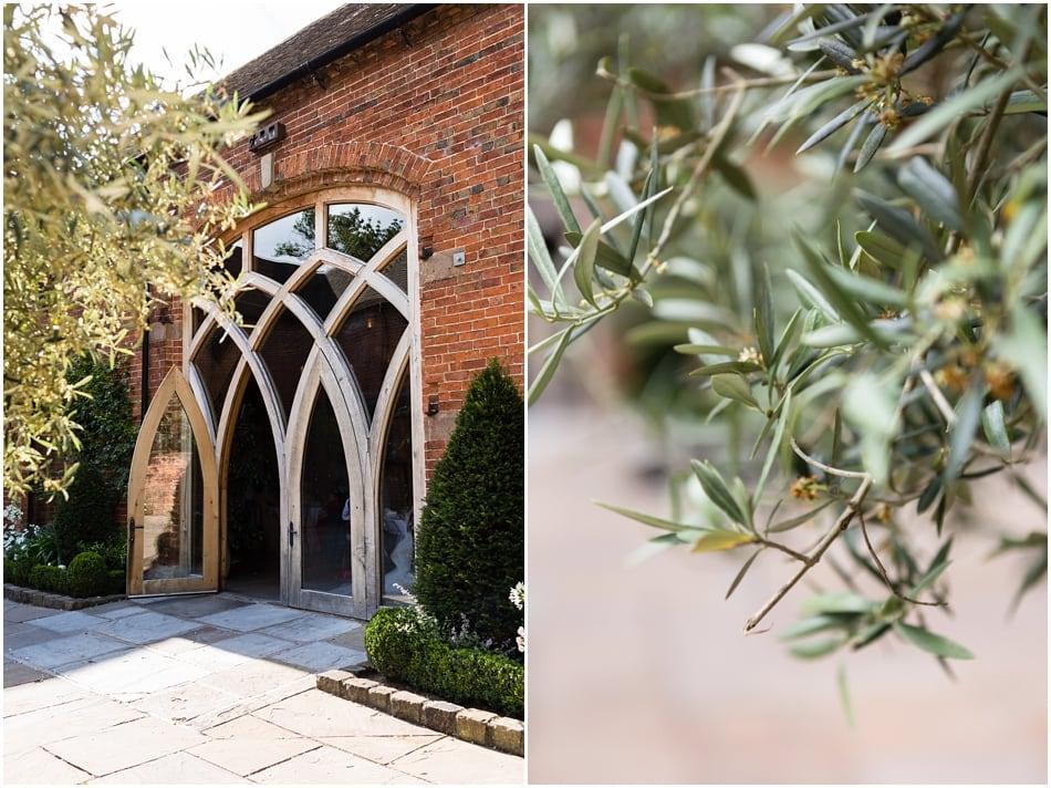 Shustoke Barn wedding photography; the courtyard