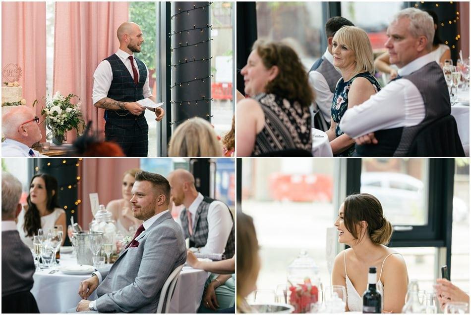 Siren wedding photography; the speeches