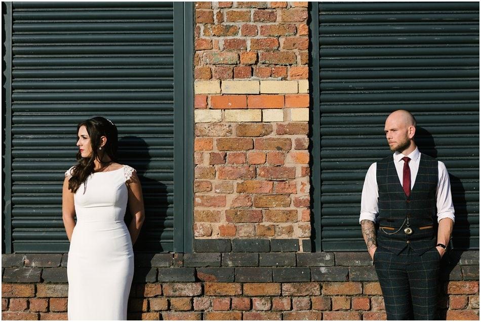 Baltic quarter wedding photography