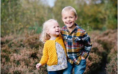 Autumn family photography in Sutton Coldfield