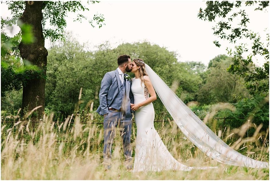 Iscoyd Park wedding photography - couple portraits