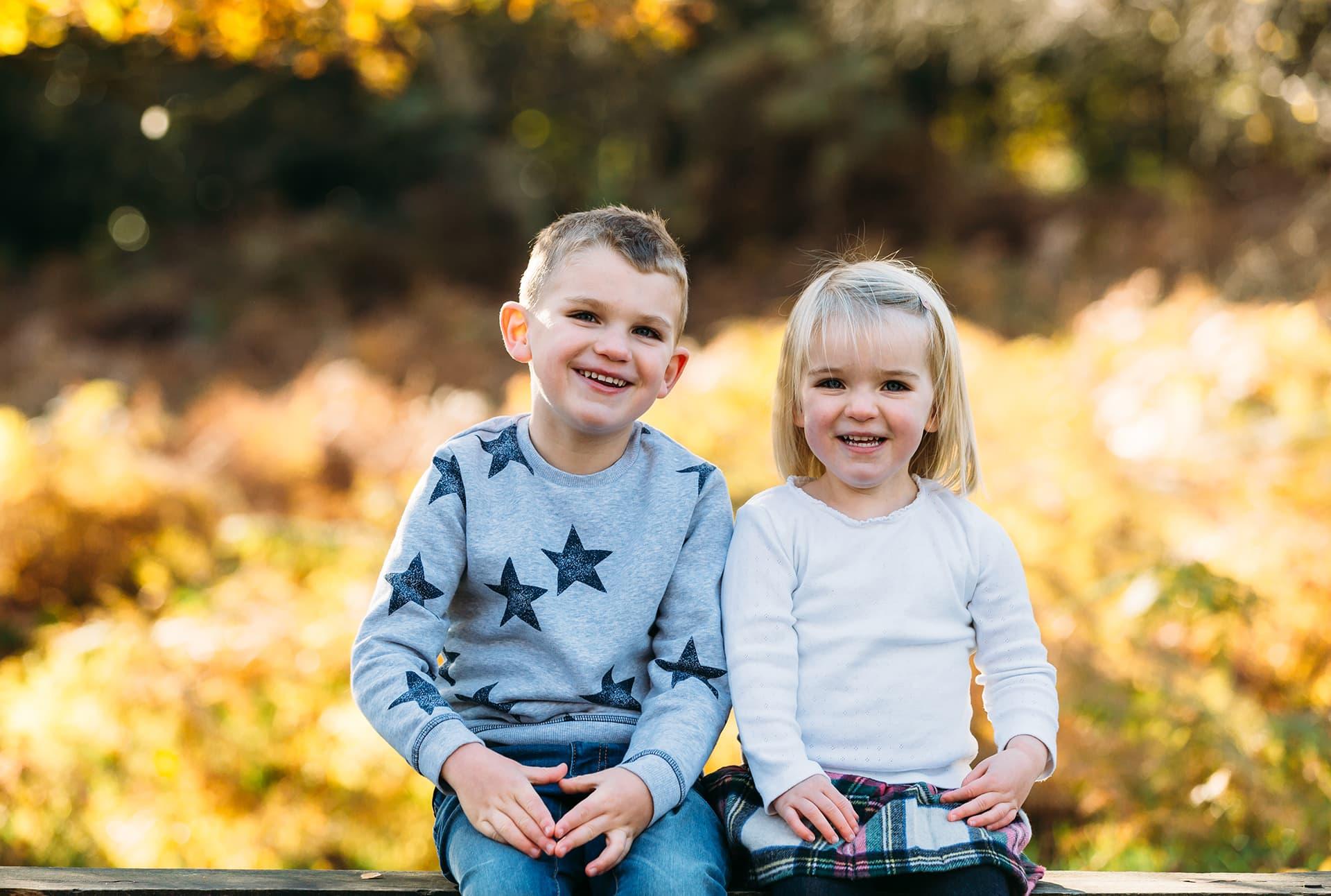 Family portraits in Lichfield