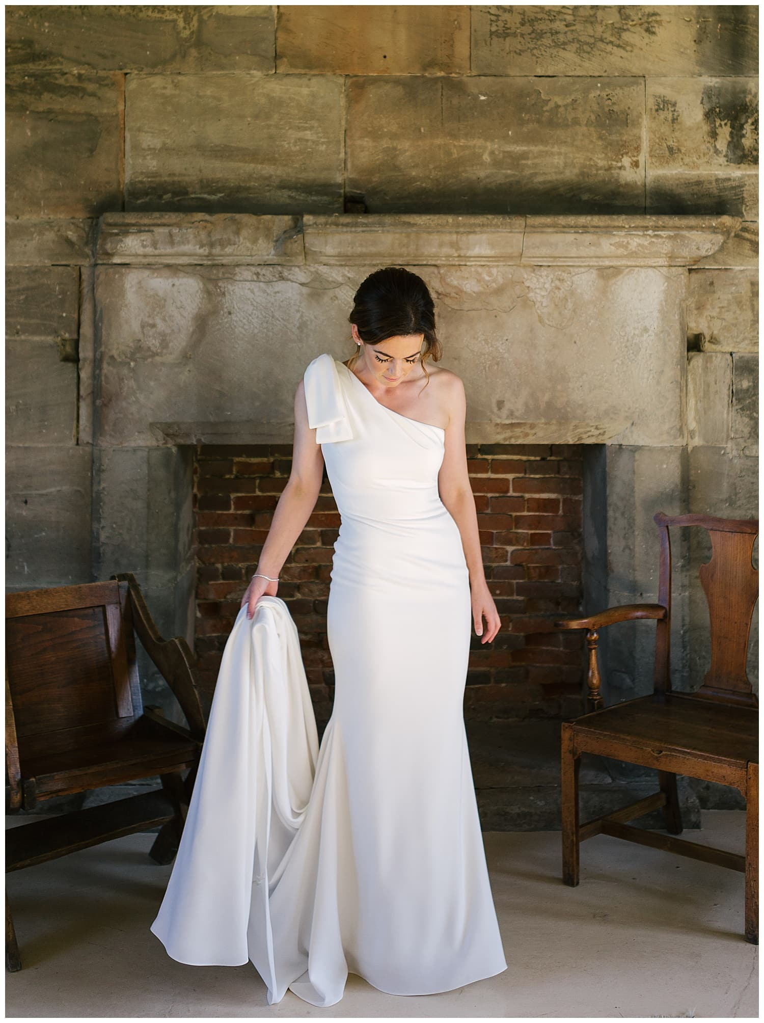 Bride at Tixhall Gatehouse