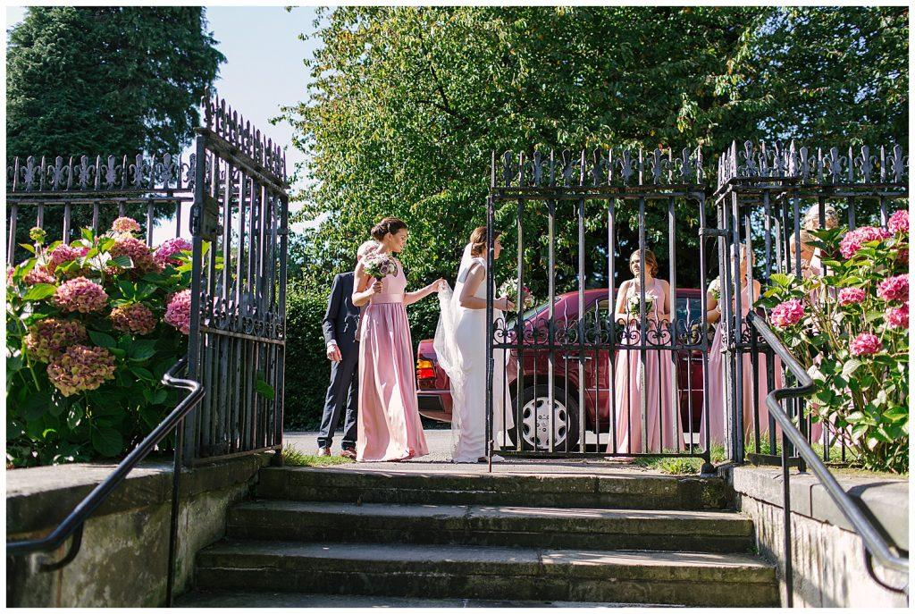 Ingestre Church wedding