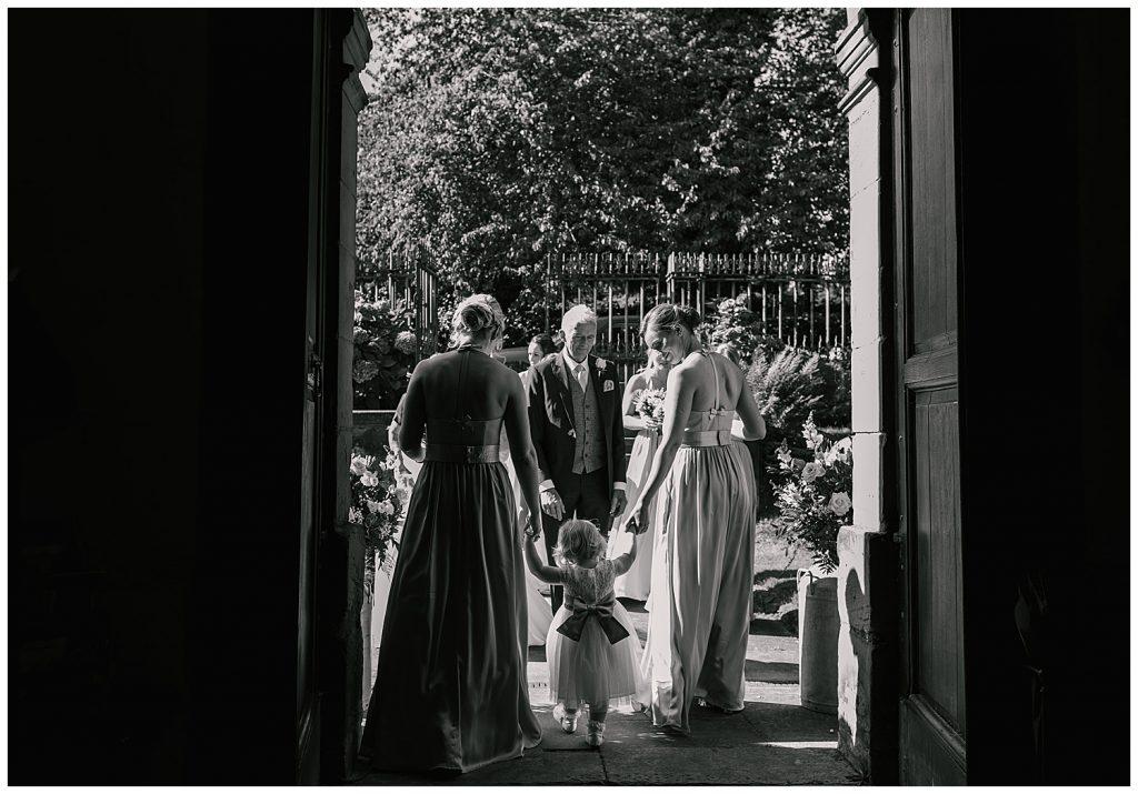 wedding photography at Ingestre Church