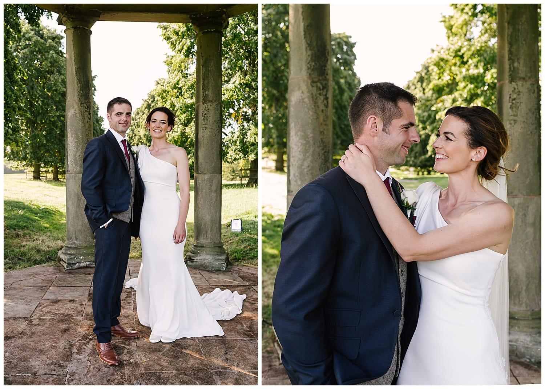 modern farm wedding photography Staffordshire
