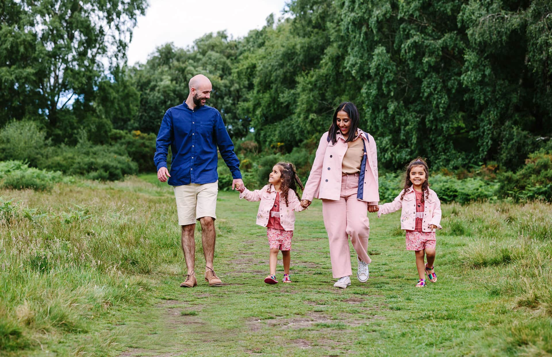 outdoor family photography Birmingham