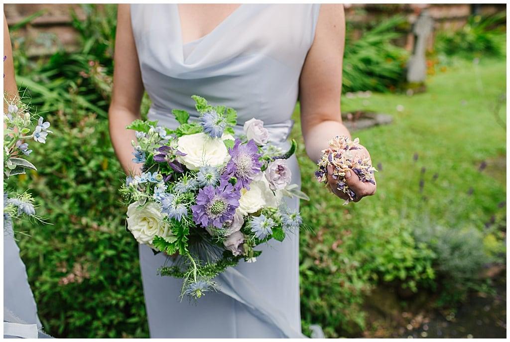 confetti petals, Shropshire