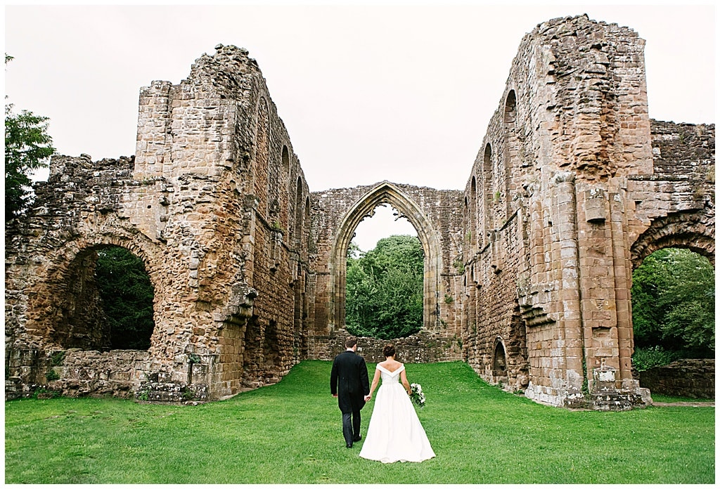 Lilleshall Abbey wedding photos