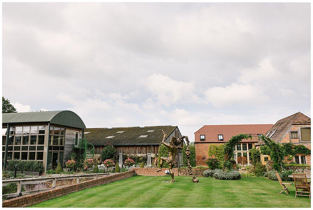 Eckington Manor barn venue in Worcestershire