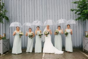 Tips for rain on your wedding day