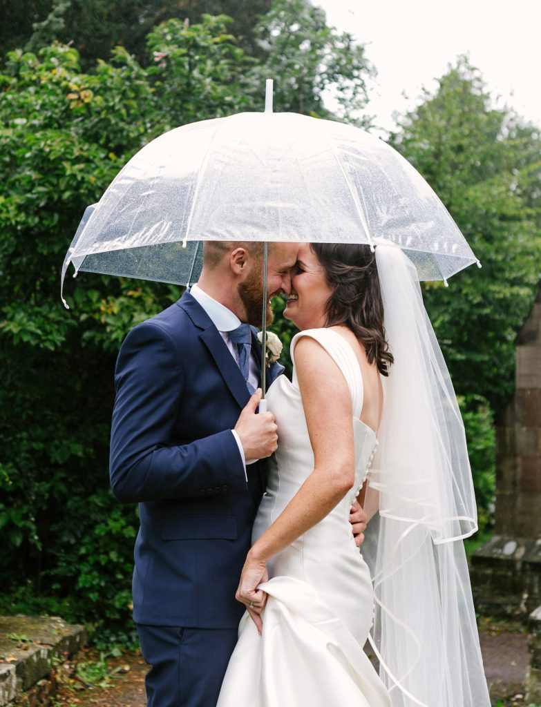 advice for rain on a wedding day