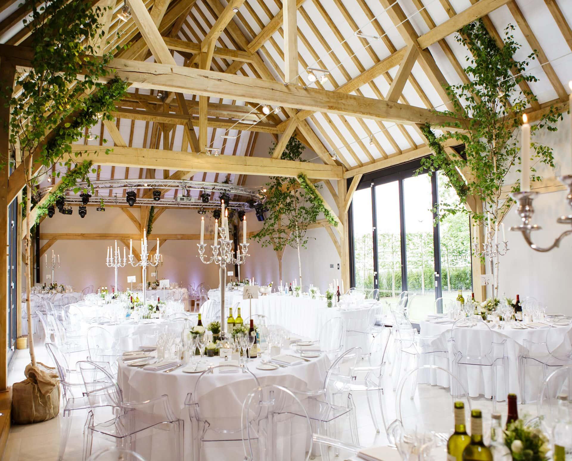 Barn wedding venues near Birmingham